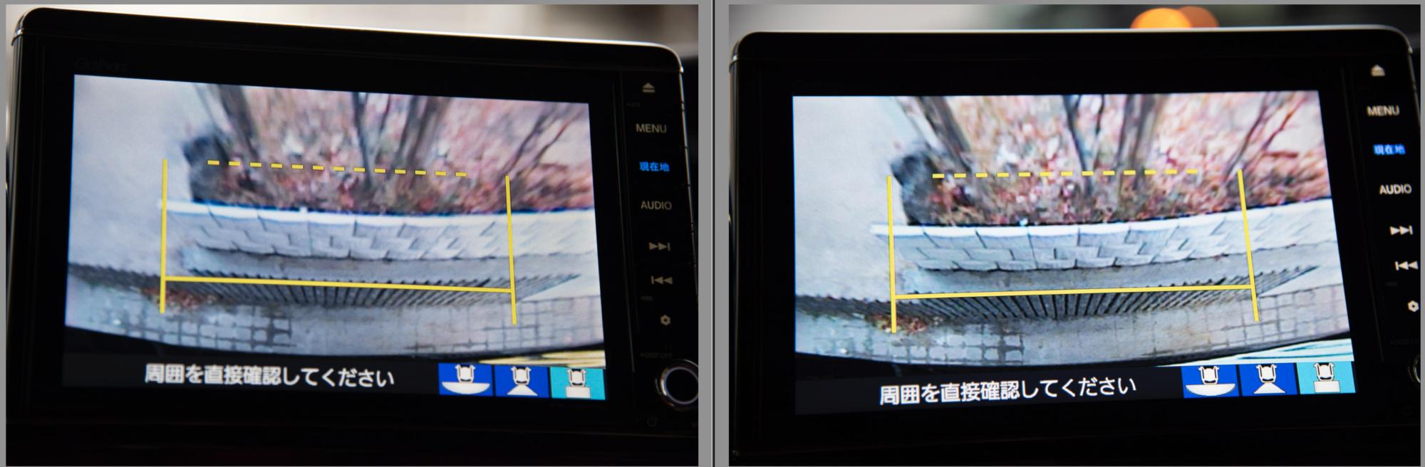 N-Boxバックカメラ